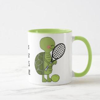 世界で最も素晴らしいテニス選手のコーヒー・マグのコップ マグカップ