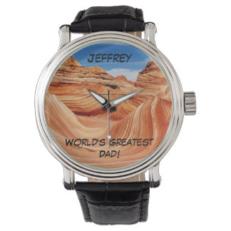世界で最も素晴らしいパパの腕時計 腕時計