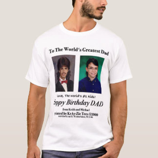 世界で最も素晴らしいパパのTシャツ、含まれているマレット Tシャツ