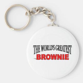 世界で最も素晴らしいブラウニー キーホルダー