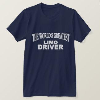 世界で最も素晴らしいリムジンの運転者 Tシャツ