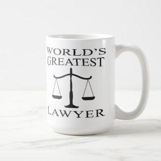 世界で最も素晴らしい弁護士のマグ コーヒーマグカップ