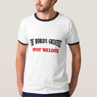 世界で最も素晴らしい点の溶接工 Tシャツ