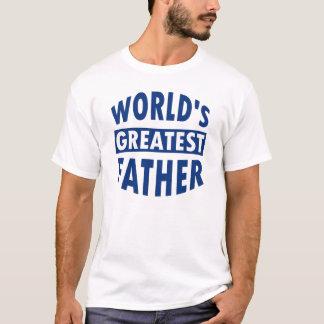 世界で最も素晴らしい父のワイシャツ Tシャツ