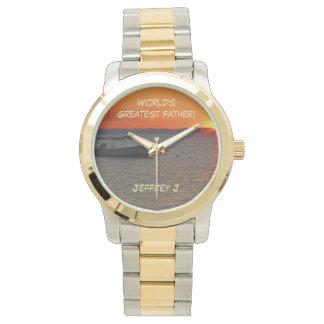 世界で最も素晴らしい父の腕時計、漁船 腕時計