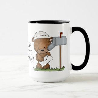 世界で最も素晴らしい郵便配達員のコーヒー・マグ マグカップ