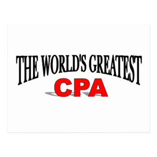 世界で最も素晴らしいCPA ポストカード
