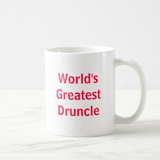 世界で最も素晴らしいDruncle コーヒーマグカップ