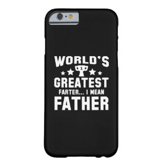 世界で最も素晴らしいFarter Barely There iPhone 6 ケース