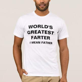 世界で最も素晴らしいFARTER Tシャツ