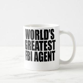 世界で最も素晴らしいFBI捜査官 コーヒーマグカップ