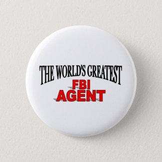 世界で最も素晴らしいFBI捜査官 5.7CM 丸型バッジ
