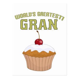 世界で最も素晴らしいGran! ポストカード