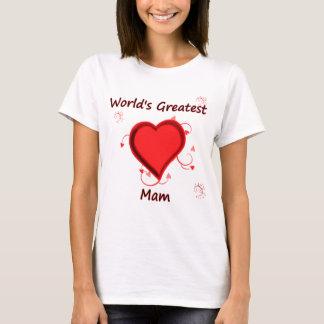 世界で最も素晴らしいmam tシャツ