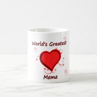 世界で最も素晴らしいMema コーヒーマグカップ