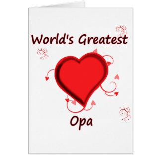 世界で最も素晴らしいopa カード