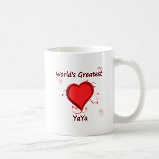 世界で最も素晴らしいyaya コーヒーマグカップ