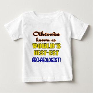 世界でbestest考古学者としてさもなければ知られていて ベビーTシャツ