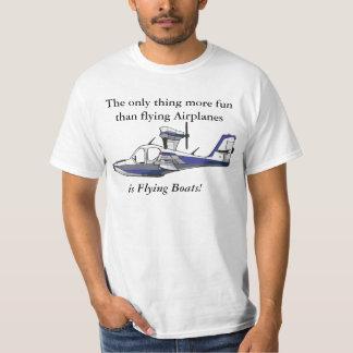 世界に水上飛行機のあなたの愛を示して下さい Tシャツ