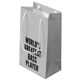 世界のすばらしいベース奏者 スモールペーパーバッグ