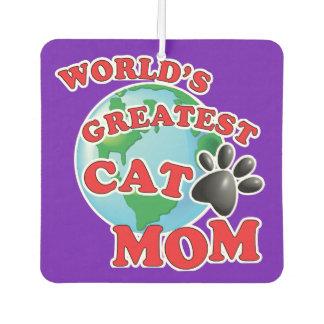 世界のすばらしい子猫のママ カーエアーフレッシュナー