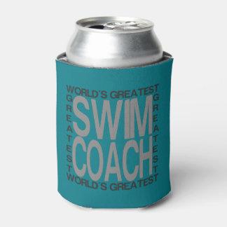 世界のすばらしい水泳のコーチ 缶クーラー