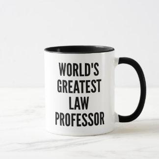 世界のすばらしい法学教授 マグカップ