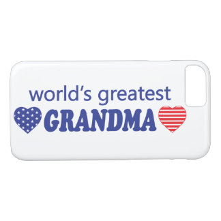 世界のすばらしい祖母 iPhone 8/7ケース