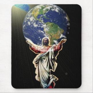 世界のためのイエス・キリスト マウスパッド