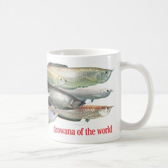 世界のアロワナ コーヒーマグカップ