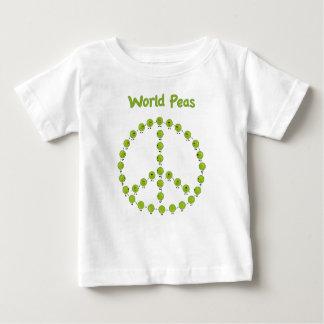 世界のエンドウ豆 ベビーTシャツ