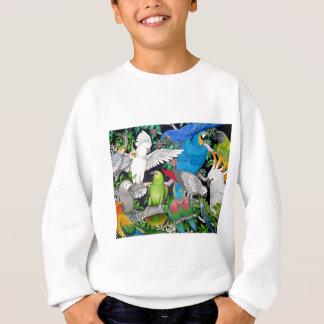 世界のオウム スウェットシャツ