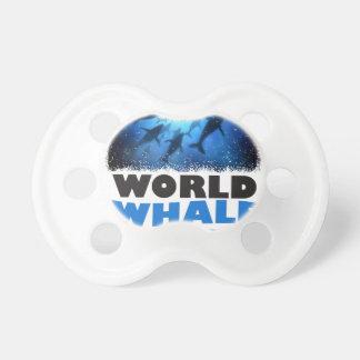 世界のクジラ日-感謝日 おしゃぶり
