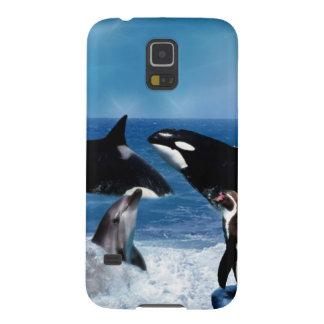 世界のクジラ GALAXY S5 ケース