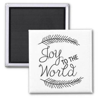 世界のクリスマスの磁石への喜び マグネット