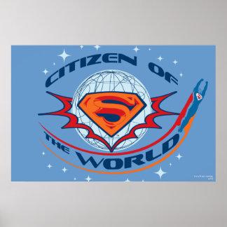 世界のスーパーマンの市民 プリント