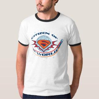 世界のスーパーマンの市民 Tシャツ