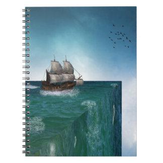 世界のノートの端 ノートブック