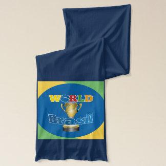 世界のブラジルのトロフィ スカーフ
