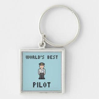世界のベストのパイロット キーホルダー