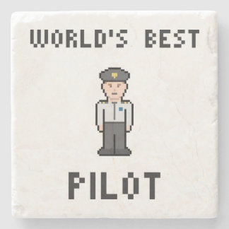世界のベストのパイロット ストーンコースター