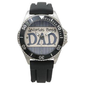 世界のベストのパパ 腕時計