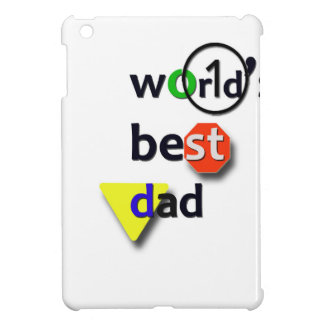 世界のベストのパパ iPad MINIケース