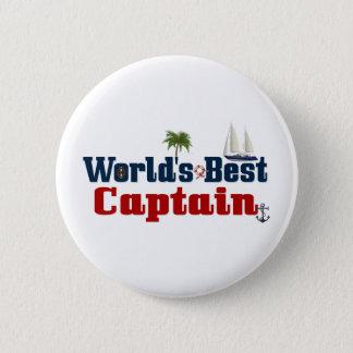世界のベストの大尉 5.7CM 丸型バッジ