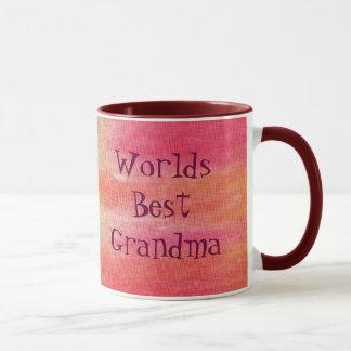 世界のベストの祖母 マグカップ