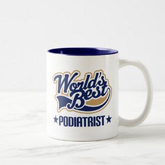 世界のベストのPodiatrist ツートーンマグカップ