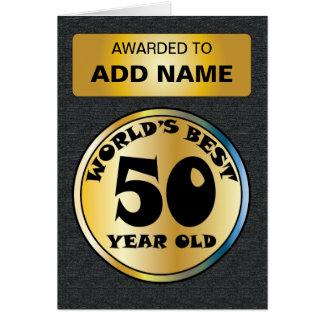 世界のベスト50 カード