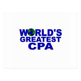 世界のベストCPA ポストカード