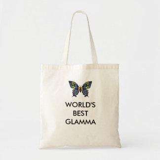 世界のベストGLAMMAのカジュアルな綿のトートバック トートバッグ
