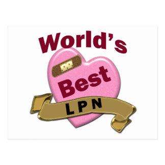 世界のベストLPN ポストカード